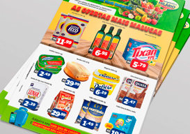 Gráfica de Encartes Para Supermercado